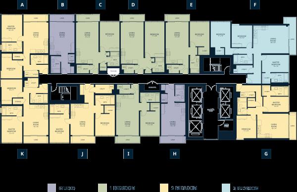 floor map key KR