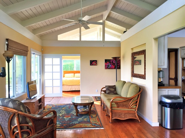 A sweet little cottage in Huelo, Haiku Maui