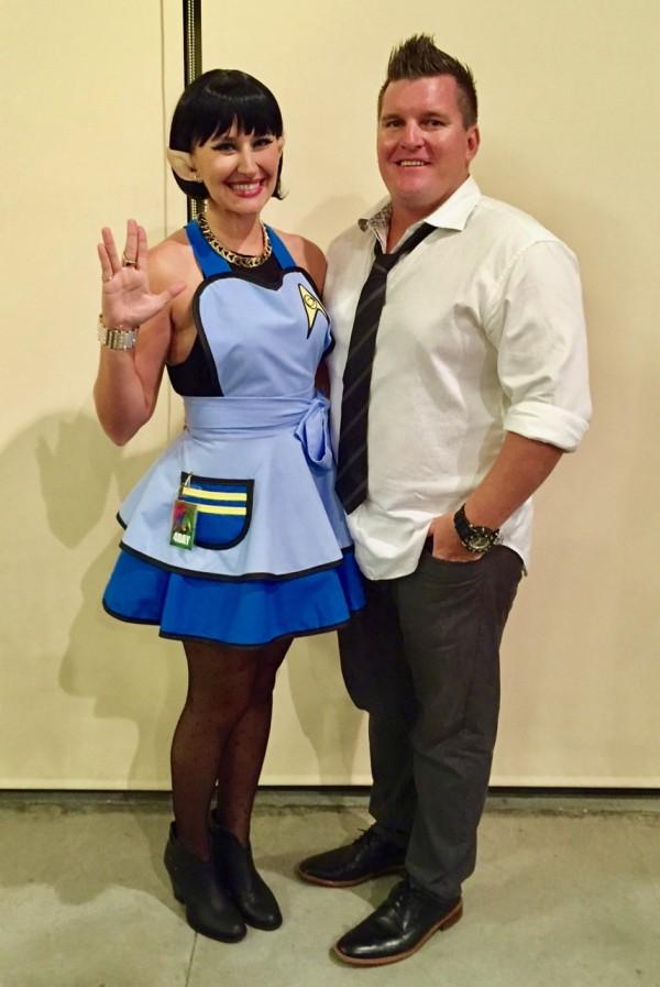 Jeremy and Megan Hawaii Con