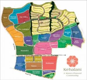 Kehalani Map