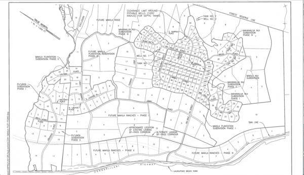 Southern Lahaina: The Entire Launiupoko, Makila and Puunoa development plan