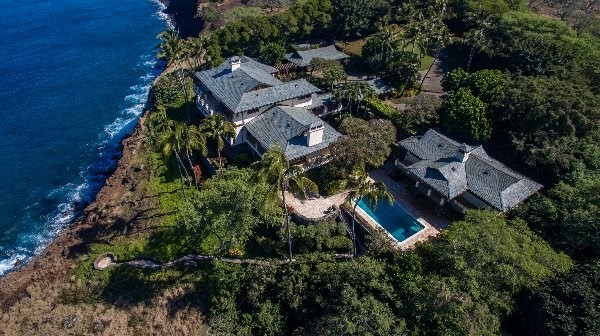Oceanfront Puakea Bay Ranch home for sale Hawi