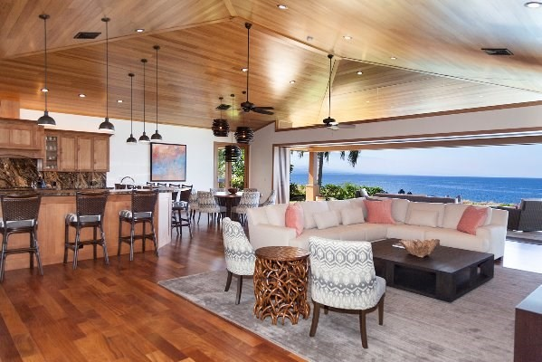 Kohala Waterfront oceanfront home for sale