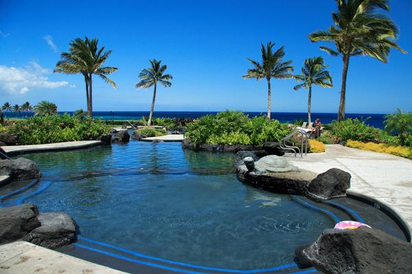 Pool at Halii Kai condos