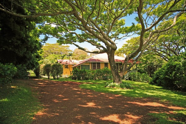Hawi home for sale on acreage